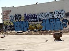 ORACLE/SORI/ANEML/DVOTE/DEFT (DOGLOST) Tags: graffiti oakland bay charles pi area aod