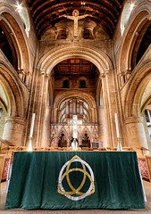 Lord Watching Over (alexbaxterca) Tags: nottingham church religion catedral minster nottinghamshire southwellminster southwell churchinterior canon60d