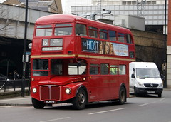 Stagecoach London RM2071 ALM71B AEC Routemaster (chrisbell50000) Tags: park old bus london tower heritage classic vintage hill royal 15 double route deck routemaster stagecoach decker aec halfcab rm2071 sorrynotinservice alm71b chrisbellphotocom