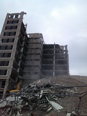 Photo of Tayside House demolition