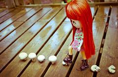 [PHOTO SOUS CADRE A VENDRE] >> Louison et les champignons (2)