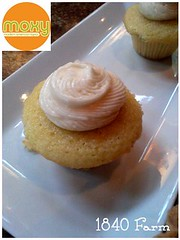 "Moxy Olive Oil Cupcake • <a style=""font-size:0.8em;"" href=""https://www.flickr.com/photos/54958436@N05/9121409207/"" target=""_blank"">View on Flickr</a>"