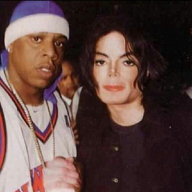 Michael Jackson and Jay -Z.