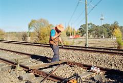 Frame 18 (njcull) Tags: film 35mm canon kodak railway canberra pancake rebel2000 gold200 trackwork ef4028