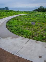 PhoTones Works #3121 (TAKUMA KIMURA) Tags: road window nature sign landscape view    kimura  takuma     ep5  photones
