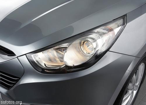 Farol do Hyundai ix35