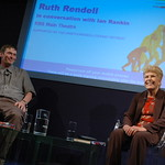 Ruth Rendell and Ian Rankin in conversation
