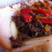 Pepper cheese steak