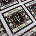 """Custom Red Black and Ivory Damask Wedding Favor Labels/Stickers with Personalized Initial/Monogram <a style=""""margin-left:10px; font-size:0.8em;"""" href=""""http://www.flickr.com/photos/37714476@N03/9470847023/"""" target=""""_blank"""">@flickr</a>"""