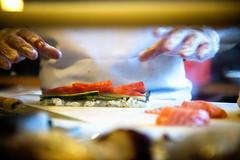 Sushi Chef (svon2) Tags: food cooking canon sushi ginza yummy sashimi salmon chef 6d 24105mm