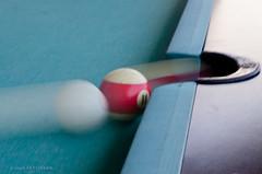 Speed Pool - Explored (John Pettigrew) Tags: holiday motion blur game pool ball august explore corfu sidari explored 2013 d7000