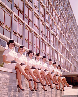 Air Hostess Uniform 1959 Summer 006