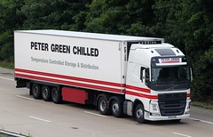 Volvo FH new look WX13 KNB - Peter Green Chilled (gylesnikki) Tags: new truck volvo kent artic m20 2013 petergreenchilled