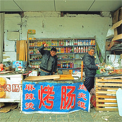 chengde (thomasw.) Tags: china travel 120 mamiya analog asia asien cross mf crossed chengde