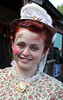 Face Painted Young Woman (J Wells S) Tags: ohio portrait girl costume williamsburg facepaint youngwoman oldwestfestival
