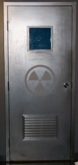 Door with radioactive logo (Will S.) Tags: ontario canada museum cabinet ottawa bunker government carp falloutshelter pm mypics defense defence primeminister coldwar diefenbaker redscare nuclearbunker pmo ministryofdefence diefenbunker thecoldwar governmentofcanada nuclearshelter nationalcapitalregion nationaldefence radiationshelter emergencypreparednesscanada canadascoldwarmuseum communistthreat thediefenbunker