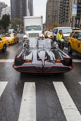 I'm Batman (Tuck Happiness) Tags: nyc autumn usa newyork halloween manhattan broadway batman batmobile allhallowseve 2013 lepakkomies
