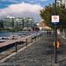 No swimming in the docklands