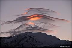 Variations nuageuses au dessus du Mont Charvin