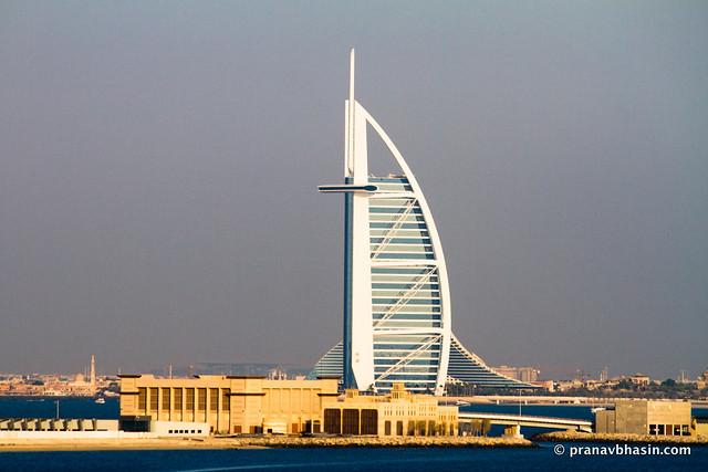Burj Al Arab, Viewed From The Atlantis, Dubai
