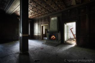Kaminzimmer / Fireplace room