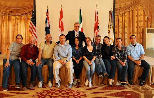 AUSA Kuwait Chapter hosts Thanksgiving feast for troops