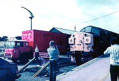 37027 at Kyle in 1983 (B4bees .(2m views)) Tags: scotland scenery line 1983 railways falkirk srps kyleoflochalsh specialtrain class37dieseltractor theskyerailwayextension