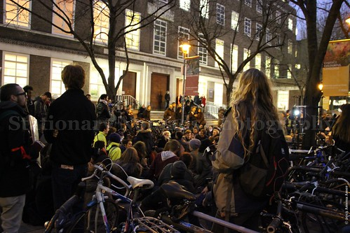 Sit-in outside SOAS