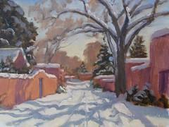 Winter Patterns     9 x 12