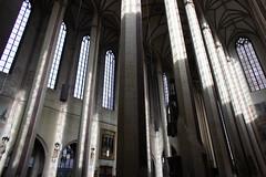 Landshut church interior