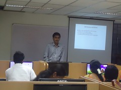 Training Teachers @ PSG College, Coimbatore on Java Web Services