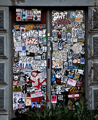 HH-Sticker 1337 (cmdpirx) Tags: street urban art public painting graffiti stencil sticker artist post mail space raum kunst strasse glue hamburg vinyl crew trading marker hh aerosol aufkleber kleber paket künstler öffentlicher
