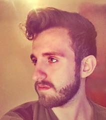 er ciuffo (Giuseppe Bruno) Tags: bear gay boy man guy eye beard italian potrait selfie flickrandroidapp:filter=none