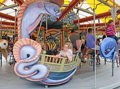 BostonSeaSerpent (fotosqrrl) Tags: urban boston ride massachusetts streetphotography carousel merrygoround grandopening oarfish seaserpent rosefitzgeraldkennedygreenway