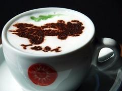 DSC_0282 (DaKlub) Tags: coffee japan goldfish kingyo capucino  artaquarium takakin hidetomokimura