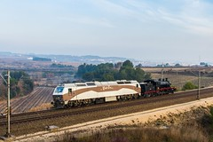 Segunda etapa del traslado. (evarujo) Tags: barcelona train tren penedes renfe guadix adif lavern sigma2470f28 subirats trendelafresa babcokwilcox canoneos7d 1402054