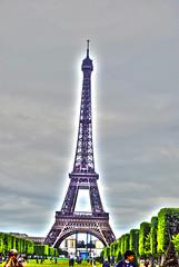 Eiffel Tower (Katalina Reyes) Tags: trip sky people paris france green tower fun nikon europe day tour eiffeltower eiffel 2012 d60