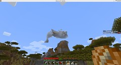 Its a flying whale! - more at http://ift.tt/1a7N3av (Minecraft Server Finder) Tags: list server servers minecraft minecraftserverfindercom