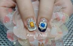 Amy's Nail美甲工作室 (aK990123) Tags: nail nailart 台中市 美甲 南屯區 光療 基礎保養 光療指甲 nailgel 光療凝膠 手足保養