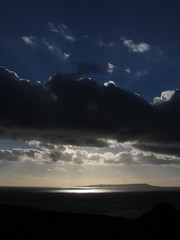 Portland is blue (shaggy359) Tags: blue sea sky cloud sun sunlight english water clouds portland bay ray dorset rays distance weymouth channel shimmer vision:sunset=0769 vision:mountain=0739 vision:clouds=099 vision:outdoor=0988 vision:sky=099 vision:car=0679 vision:ocean=0583