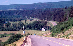 Scotsville, Upper Margaree NS - July 1978 (celticpixl) Tags: lake novascotia capebreton inverness margaree scotsville ai9nslie