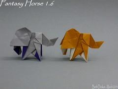 Fantasy Horse 1.6...Barth Dunkan (Magic Fingaz) Tags: horse caballo cheval pony cavalo poney origamihorse