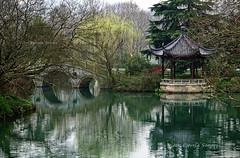 Hangzhou (Vitor Estrela Santos) Tags: china lake lago ponte hangzhou reflexos pagode beautifulworld vitormes