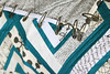 DiamondBinding (Bonjour Quilts) Tags: quilt logcabin patchwork binding basting onpoint