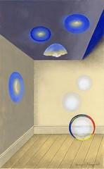 Efectos y lente en una habitación (jpicazo9@gmail.com) Tags: habitación lente burbujas cáscara