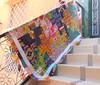 Hand Drawn Garden Plus Quilt Flimsy (Lifesrichpattern) Tags: garden hand quilt plus drawn patchwork flimsy annamariahorner