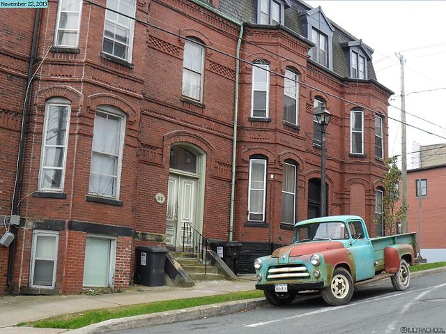 canada 1955 bricks newbrunswick dodge pickuptrucks saintjohn