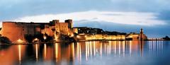 COLLIOURE SUNSET (patrick555666751) Tags: sunset france reflection de soleil europa coucher reflet reflect collioure roussillon pyrenees orientales catalogne catalans paisos