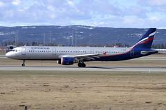Aeroflot VP-BUM, OSL ENGM Gardermoen (Inger Bjørndal Foss) Tags: norway airbus osl gardermoen aeroflot a321 engm vpbum