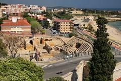 Amfiteatre rom (Jorge Franganillo) Tags: city espaa spain ciudad catalunya catalua tarragona ciutat partalta